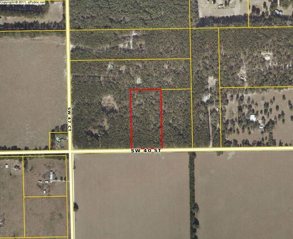 0 SW 47th Court, Bell, FL 32619