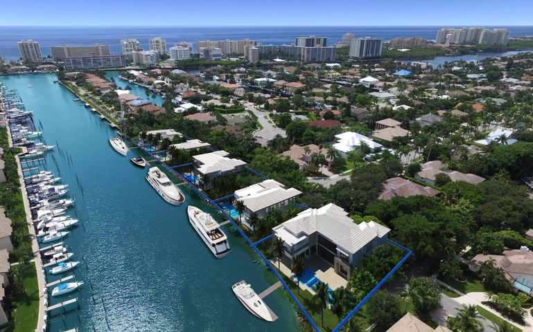 New deep waterfront development with 5 lots available for custom homes