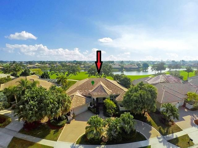 AMAZING LONG VIEWS OF LAKE & GOLF COURSE. HEATED SALT POOL & SPA BUILT IN 2010. NEW ROOF 2017. DOUBLE FRONT ENTRY DOORS LEAD INTO LARGE LIVING ROOM WITH SOARING CEILINGS & WALL TO WALL FRENCH DOORS WITH DIRECT ACCESS TO SCREENED LANAI. 3 SPACIOUS B/R'S W/EN-SUITE BATHS PLUS CUSTOM PANELED OFFICE. LARGE OPEN KITCHEN CONNECTS DIRECTLY TO THE FAMILY ROOM & HAS OPEN VIEWS TO POOL & BACKYARD. MASTER BEDROOM SUITE IS SUPER SIZED WITH OVERSIZED SPA BATH & 2 HUGE WALK-IN CLOSETS. MANY UPGRADES INC. DBL GLAZED WINDOWS. ACCORDIAN STORM SHUTTERS, ROOF 2017 ($35K VALUE), MAIN AC '17, 2nd AC '15, WTR HTRS. (2010 & 2018). D/W '17. COOKTOP 2018. THIS IS A VERY LARGE OPEN FLOOR PLAN HOME. VIEWS FROM ALL ROOMS. SIZES/MEASUREMENTS/DATES SUB VERIF. NEW PORCELIN FLRS IN LIVING & DINING RMS. WOOD ELSEWHERE.