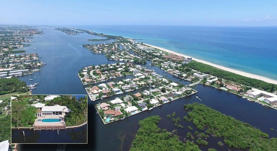1 Inlet Cay Drive, Ocean Ridge, FL 33435