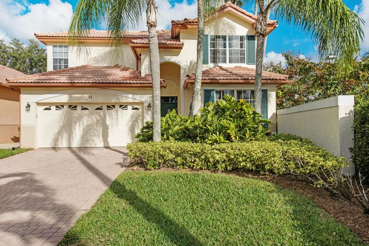 This house is located at the end of the street (great for privacy) and has an easy care lot with extended paved driveway.