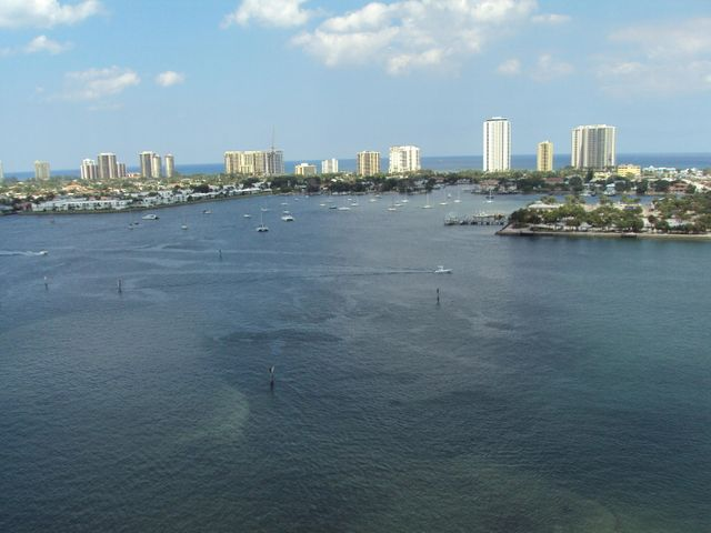 YOUR OCEAN AND INTRACOASTAL VIEW FROM THE PRIVATE PATIO