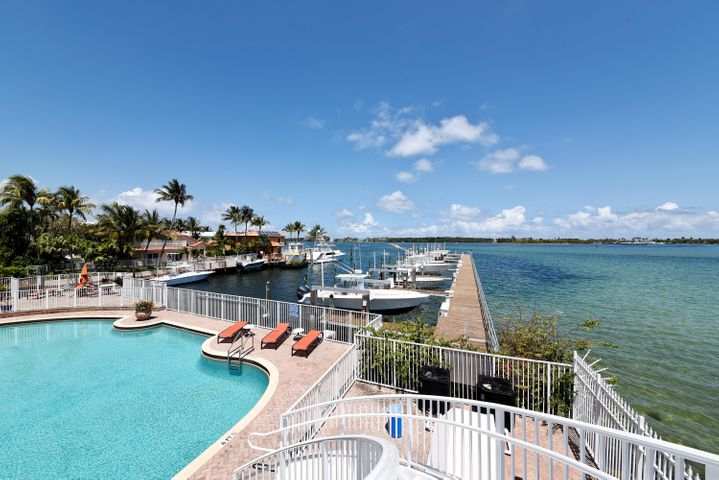 The Harbors offers a large pool dorectly on The Intracoastal Waterway. There are several Boat docks that hold up to a 48 foot boat, some with boat lifts and may be available for rent.