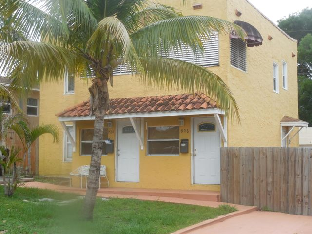 924 Mcintosh Street, 1&2, West Palm Beach, FL 33405