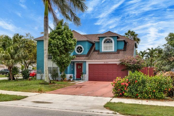 5150 Willow Pond Road W, West Palm Beach, FL 33417