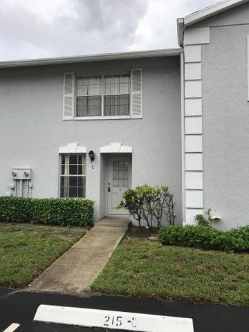 215 Foxtail Drive, C, Greenacres, FL 33415