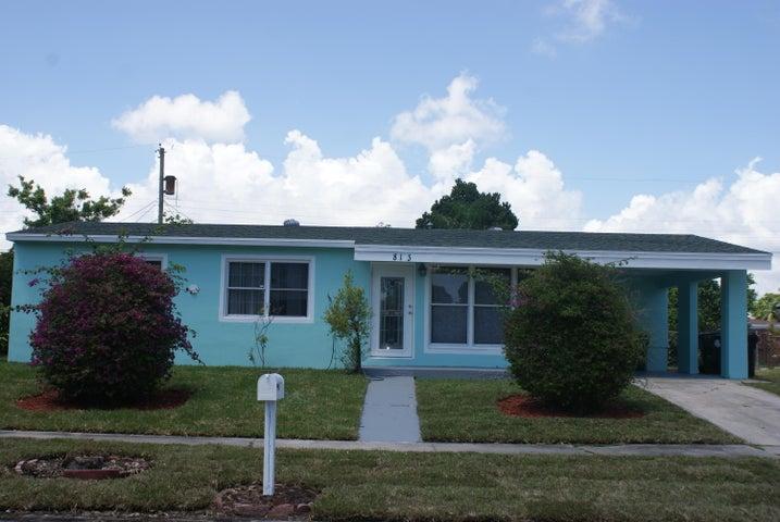 813 Small Drive, Lake Worth, FL 33461