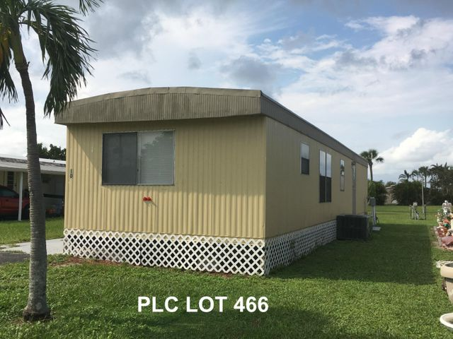 4104 74th Street N, Lot 466, West Palm Beach, FL 33404