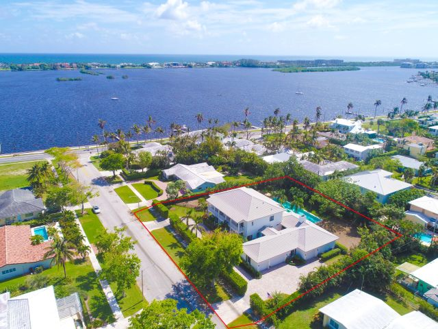 Double lot with Intracoastal views and East breezes!