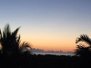 Beautiful sunrises off your balcony!