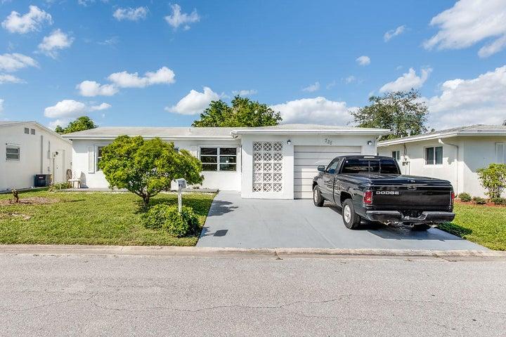 735 NW 72nd Terrace, Margate, FL 33063