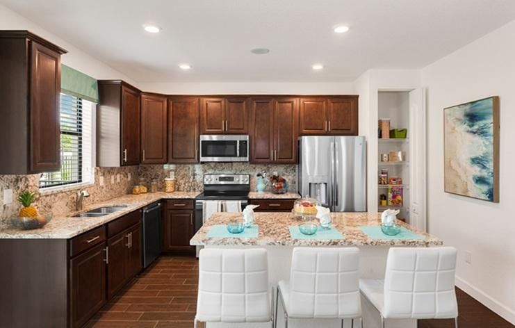 Photo of Lennar's Evergreen Model Home.