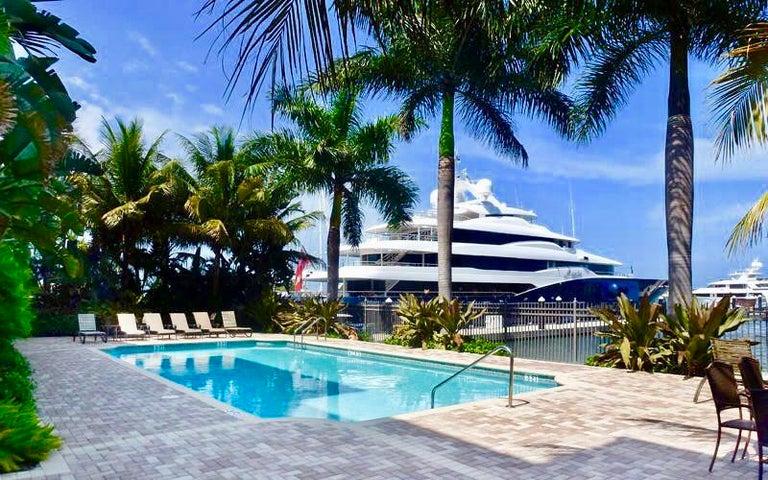 Marina/Intracoastal Facing Pool Patio Deck