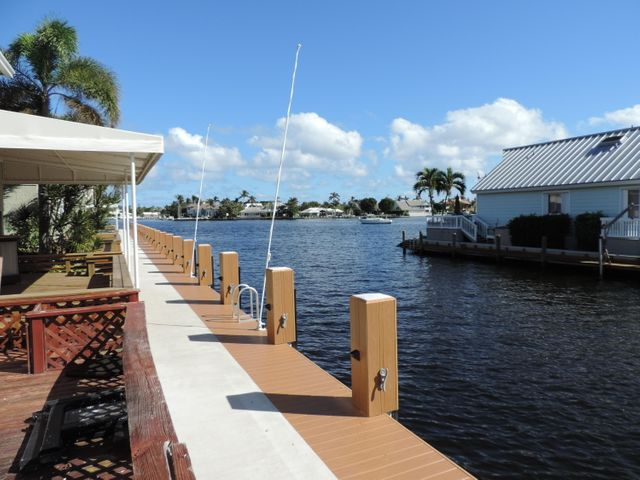Private deeded dock right outside your deck