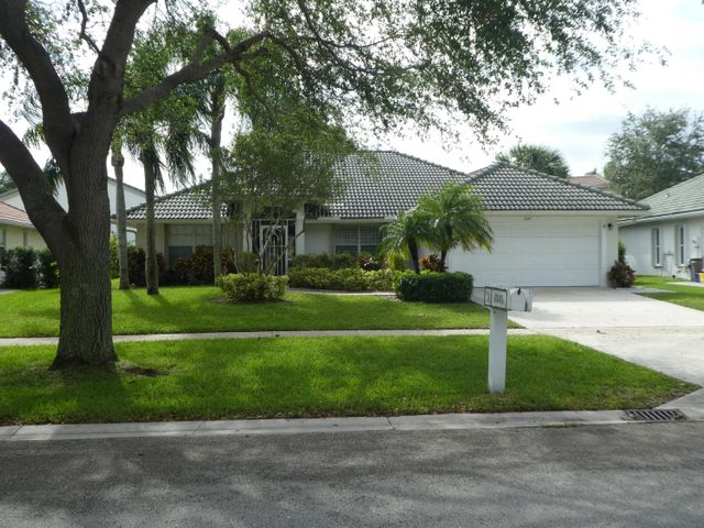 Front view of the home for sale.