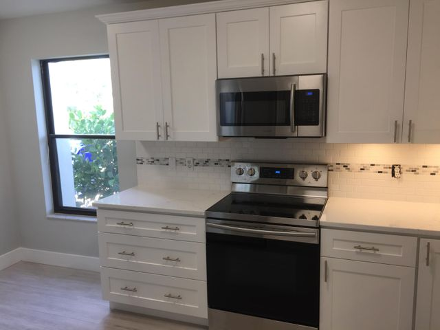 Brand New Kitchen with Quartz Counters