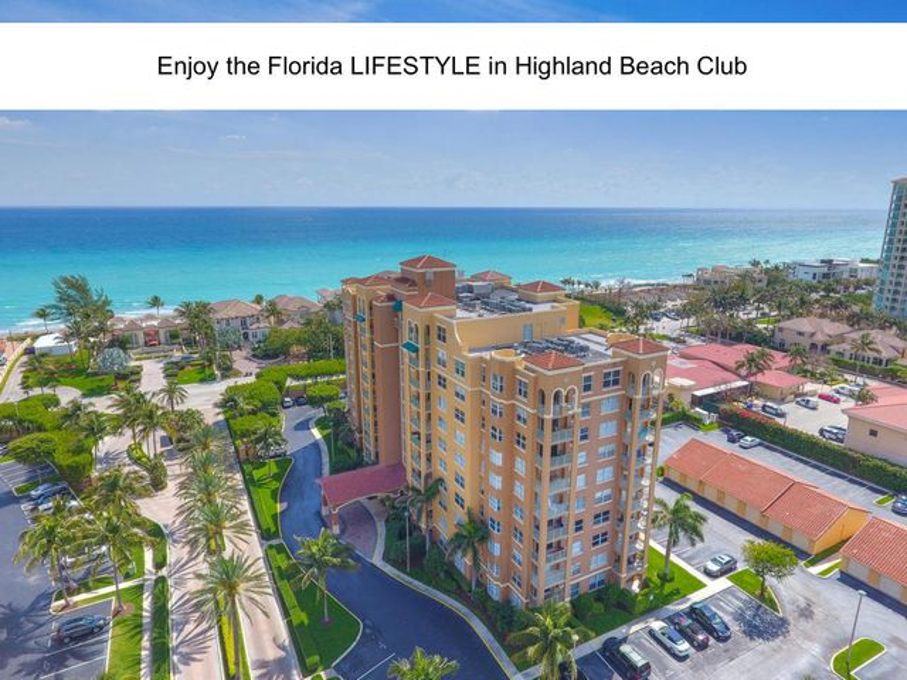 3606 S Ocean Boulevard 408, Highland Beach, FL 33487