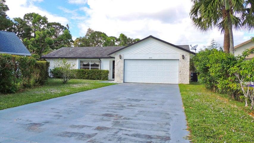 2845 W Foxhall Drive W, West Palm Beach, FL 33417