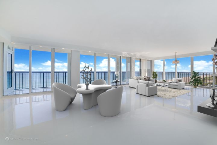 FANTASTIC South-east Corner with the BEST Views in Boca (Virtually Furnished)