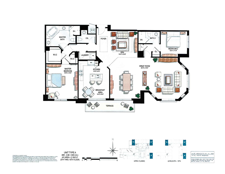 2156 s.f. of Luxury Living