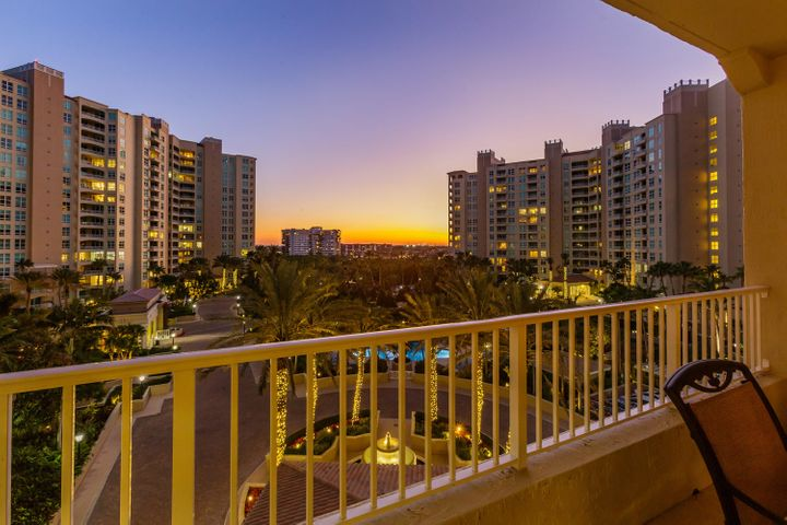 Enjoy evening sunsets from your private terrace