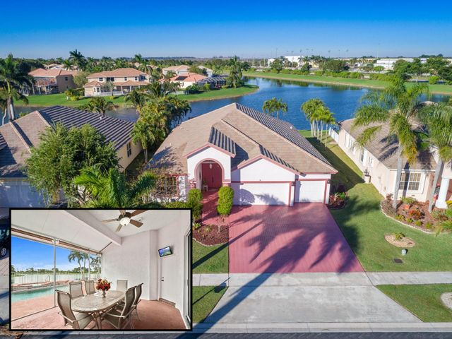 The BEST VALUE in Boca Falls! Incredible 4 bedroom, 3 bath waterfront home with pool and 3 car garage.