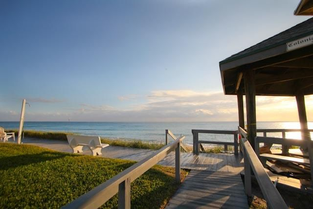 This is a Private Beachfront and Gazebo for Colonial Ridge