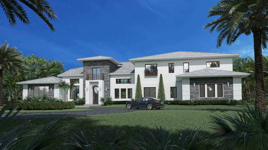 NEW CONSTRUCTION ON ONE ACRE IN CENTRAL BOCA RATON, FL