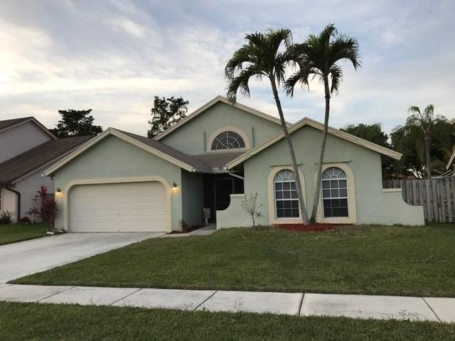 DRAMATIC PRICE REDUCTION!  SELLER SUPER MOTIVATED!!  BEAUTIFUL UPGRADED POOL HOME WITH PRIVATE FENCED BACKYARD AND LARGE OPEN POOL/PATIO AREA.  UPGRADED KITCHEN W/CORIAN COUNTERTOPS AND ALL PULL-OUTS IN CABINETS AND PANTRY!  LAMINATE WOOD AND TILE FLOORING THROUGHOUT.  UPGRADED BATHROOMS!  WHOLE INTERIOR OF HOME FRESHLY PAINTED!  STORM SHUTTERS FOR ENTIRE HOUSE, REINFORCED HURRICANE GRADE GARAGE DOOR, & ALARM SYSTEM.  DESIREABLE NEIGHBORHOOD W/A-RATED SCHOOL SYSTEM!  LOW HOA, WILL SELL FAST!  DON'T MISS OUT ON THIS FANTASTIC OPPORTUNITY!!