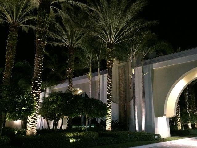 Entrance to the neighborhood/Night lights