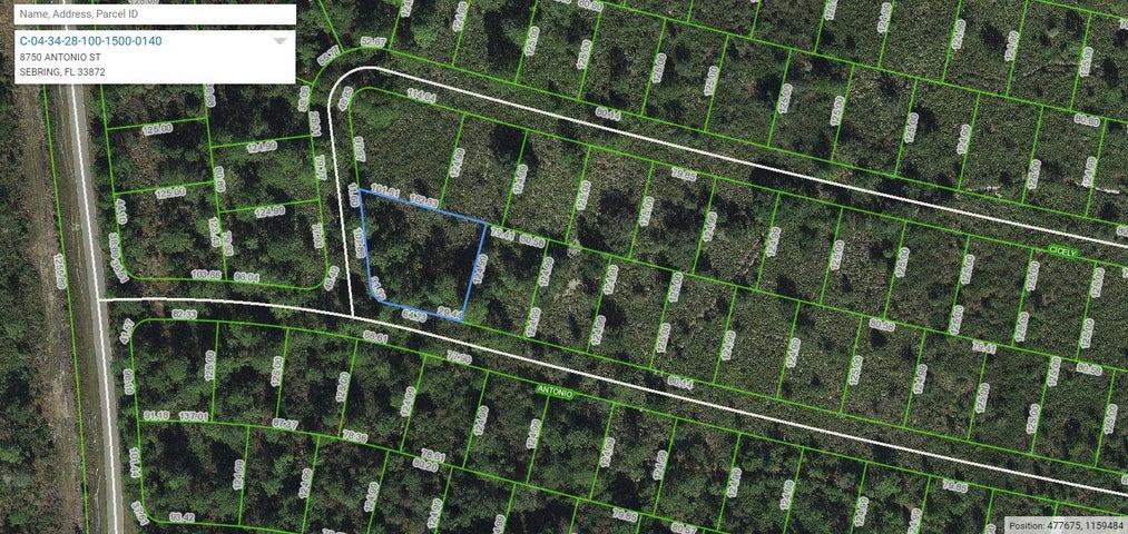 8750 Antonio Street, Sebring, FL 33872