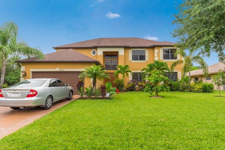 459 SW Log Drive, Port Saint Lucie, FL 34953