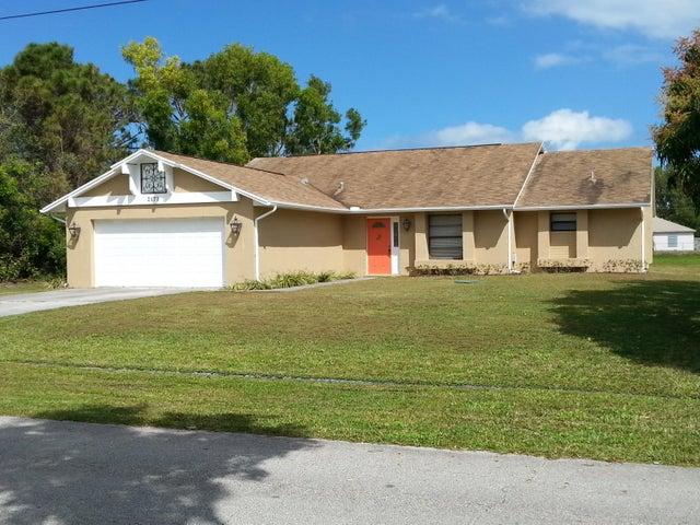 2171 SE Bowie Street, Port Saint Lucie, FL 34953