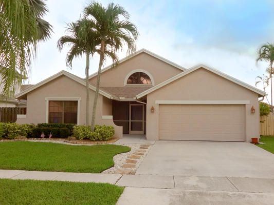 Beautiful Pool home in the desirable community of Boca Winds / Ashely Park. This property features an open and spacious floor-plan. 3 bedroom, 2 bath, 2 car garage. Low HOA. Less than two miles away 3 'A' rated schools. Must See!!