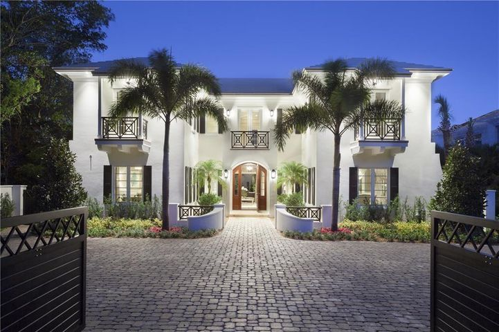 """Timeless elegance carries throughout this new Bermuda-style estate lavished with classic Palm Beach details. Renowned Builder, Seaside Builders, took full advantage of the surrounding splendor and luxuriant tranquility, while infusing quality construction with the stately elegance and finishes befitting such a masterpiece.This estate introduces a lavish environment enjoyed both indoors and out.This is the only property in Harbour View Estates to enjoy private access from North Ocean Blvd.The information herein is deemed reliable and subject to errors, omissions or changes without notice.  The information has been derived from architectural plans or county records. Buyer should verify all measurements DISCLAIMER: The written and verbal information provided including but not limited to prices, measurements, square footages, lot sizes, calculations and statistics have been obtained and conveyed from third parties such as the applicable Multiple Listing Service, public records as well as other sources. All information including that produced by the Sellers or Listing Company are subject to errors, omissions or changes without notice and should be independently verified by any prospect for the purchase of a Property.  The Sellers and Listing Company expressly disclaim any warranty or representation regarding all information.  Prospective purchasers' use of this or any written and verbal information is acknowledgement of this disclaimer and that Prospects shall perform their own due diligence.  Prospective purchasers shall not rely on any written or verbal information provided when entering a contract for sale and purchase.  Some affiliations may not be applicable to certain geographic areas. If your property is currently listed, please do not consider this a solicitation. In the event a Buyer defaults, no commission will be paid to either Broker on the Deposits retained by the Seller.  """"No Commissions Paid until Title Passes.""""  Copyright 2018 Listing Company. All Rights """