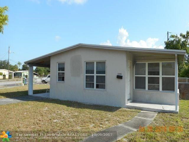 3481 NW 5th Street, Lauderhill, FL 33311