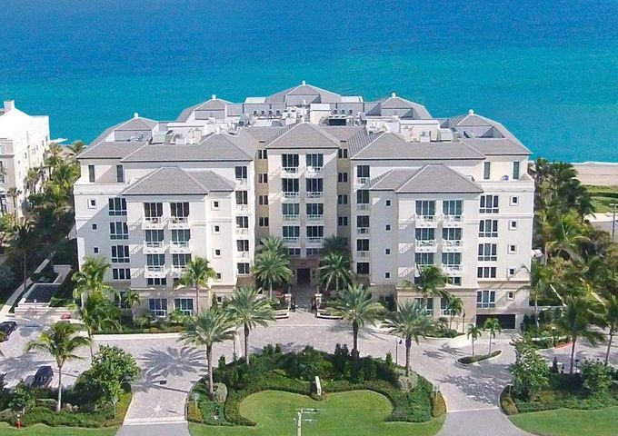 """North Ocean Boulevard, Gulf Stream, Florida.  With classic modern design inspired by Gulf Stream's seaside beauty, this exclusive beachfront enclave of only 34 oceanfront condominiums with semi-private elevators was just completed in 2013, utilizing the latest advances in construction and technology. For a lifestyle of carefree luxury, private resident-only amenities feature a magnificent oceanfront pool and spa, fitness center, concierge service, and dune walkway on 300+/- feet of sugar sands. The information herein is deemed reliable and subject to errors, omissions or changes without notice.  The information has been derived from architectural plans or county records. Buyer should verify all measurements DISCLAIMER: The written and verbal information provided including but not limited to prices, measurements, square footages, lot sizes, calculations and statistics have been obtained and conveyed from third parties such as the applicable Multiple Listing Service, public records as well as other sources. All information including that produced by the Sellers or Listing Company are subject to errors, omissions or changes without notice and should be independently verified by any prospect for the purchase of a Property.  The Sellers and Listing Company expressly disclaim any warranty or representation regarding all information.  Prospective purchasers' use of this or any written and verbal information is acknowledgement of this disclaimer and that Prospects shall perform their own due diligence.  Prospective purchasers shall not rely on any written or verbal information provided when entering a contract for sale and purchase.  Some affiliations may not be applicable to certain geographic areas. If your property is currently listed, please do not consider this a solicitation. In the event a Buyer defaults, no commission will be paid to either Broker on the Deposits retained by the Seller.  """"No Commissions Paid until Title Passes.""""  Copyright 2018 Listing Company. All """
