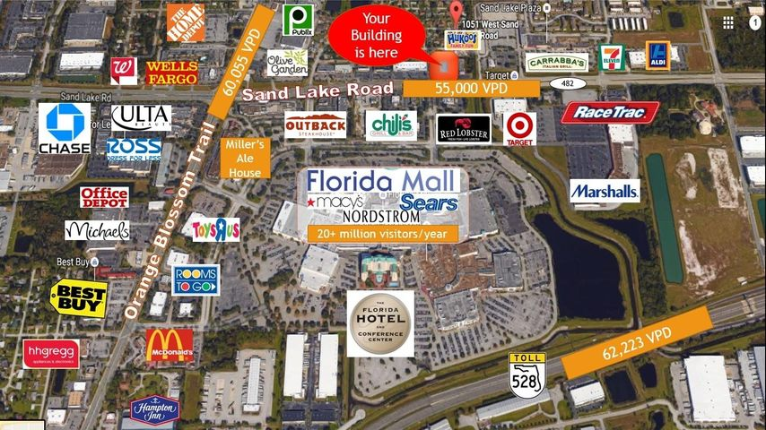 1051 W Sand Lake Road, Orlando, FL 32809