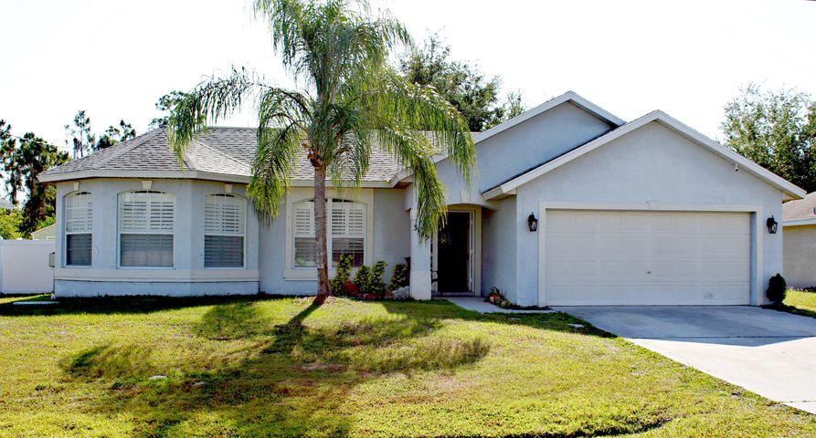 3149 SW Dimattia Street, Port Saint Lucie, FL 34953
