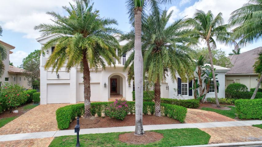 A must see, unique home in Mizner Country Club. Grand entry way, dramatic staircase, saturnia marble floors, wine closet, gourmet kitchen with granite countertops and a lagoon style pool with gazebo and spa. A membership equity is required for Mizner Country Club.