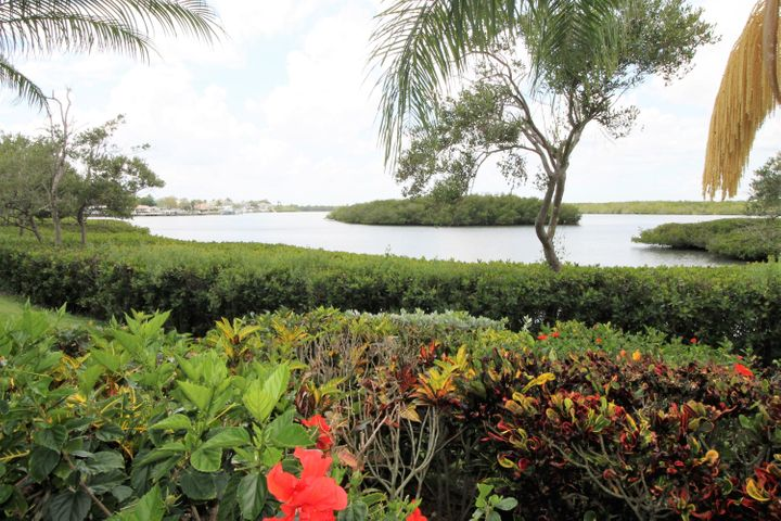 View of Intracoastal Waterway from Back of Home