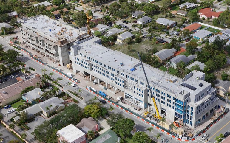 Discover an urban-meets-seaside oasis within Downtown Delray, where elevated luxury living and unprecedented service awaits. A mere two blocks from Atlantic Avenue, 236 Fifth Avenue is an unprecedented modern condominium offering a contemporary collection of 35 luxe residences, one- to three-bedroom open-plan designs, all boasting private balconies capturing energizing sunrises to the east or relaxing sunsets to the west. Each residence is assigned a private ''Platinum'' house account, offering access to best of everything with a dedicated, 24/7 concierge. From round-the-clock room service, on-call housekeeping and poolside towel service to package deliveries receipt, travel planning, shopping/gift assistance and reservations to the hottest restaurant or tickets to an art preview or sold- out sporting event, 236 Fifth Avenue has its rewards. Built by Kaufman Lynn and designed by Slattery Architects, 236 Fifth Avenue is highlighted by an Aloft Hotel, a Starwood / Marriott brand. Residents will not only relish the private services exclusively offered to them, but also enjoy the conveniences of a lobby bar, on-site cafe, state-of-the-art fitness center and heated saltwater pool with expansive sun deck.  As a true boutique property, residents of 236 Fifth Avenue are afforded the ultimate in privacy, unparalleled luxury service and the comforts of modern home. Completion is set for Fall/Winter 2018.  Sales gallery is located at 901 George Bush Blvd.