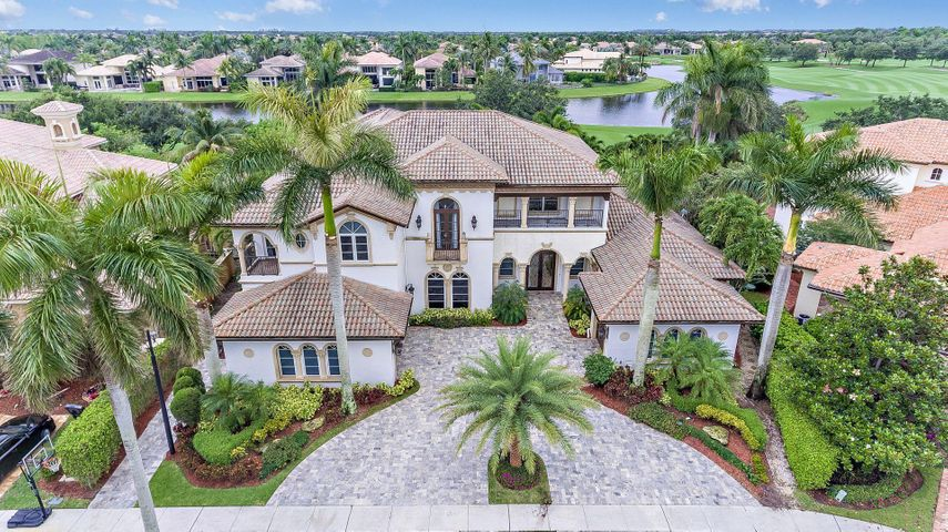 "This beautiful fairway custom estate home is sited on the most sought after cul-de-sac in exclusive Mizner Country Club.This home encompasses 7,452 SF of living area with 6 bedrooms, 5 full and 3 half baths, expansive gourmet chef's kitchen, 7 seat theatre room, temperature controlled wine storage closet, & oversized game room. The beautiful master bedroom suite & a guest room are on the 1st level & 4 bedrooms are on the 2nd floor. A bright grand entrance welcomes you to soaring ceilings, gleaming marble floors, & ultra high end and meticulously maintained finishes throughout. With an ideal southern exposure overlooking the newly re-designed Kipp Schulties golf course and 18th fairway. Serene outdoor living area offers an elaborate summer kitchen aside an alluring, sun splashed pool & spa Disclaimer: The information provided herein including but not limited to measurements, square footages, lot sizes, calculations and statistics have been obtained and conveyed from third parties such as the applicable Multiple Listing Service, public records as well as other sources. All information including that produced by the Sellers or Listing Company are subject to errors, omissions or changes without notice and should be independently verified by any prospect for the purchase of a Property. The Sellers and Listing Company expressly disclaim any warranty or representation regarding all enclosed information. Prospects' use of any information herein is acknowledgement of this disclaimer and that Prospect shall perform their own due diligence. Prospects shall not rely on this information when entering into a contract for sale and purchase. Some affiliations may not be applicable to certain geographic areas. If your property is currently listed, please do not consider this a solicitation. In the event a Buyer defaults, no commission will be paid to either Broker on the Deposits retained by the Seller. ""No Commissions Paid until Title Passes."""