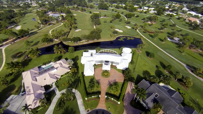 Aerial view to Golf Course