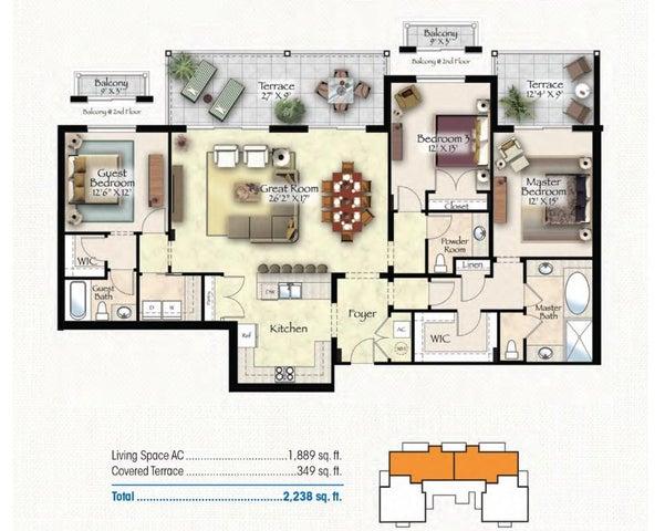 Exuma floor plan