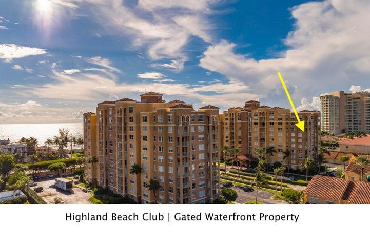 3606 S Ocean Boulevard, 707, Highland Beach, FL 33487