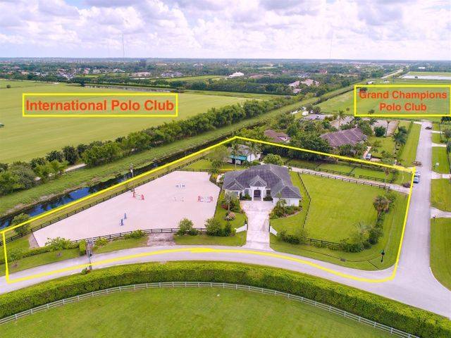 Aerial front of property