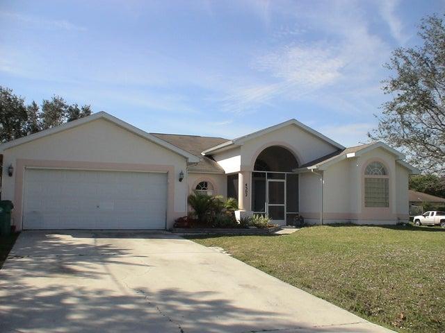4302 SW Lagrange Street, Port Saint Lucie, FL 34953