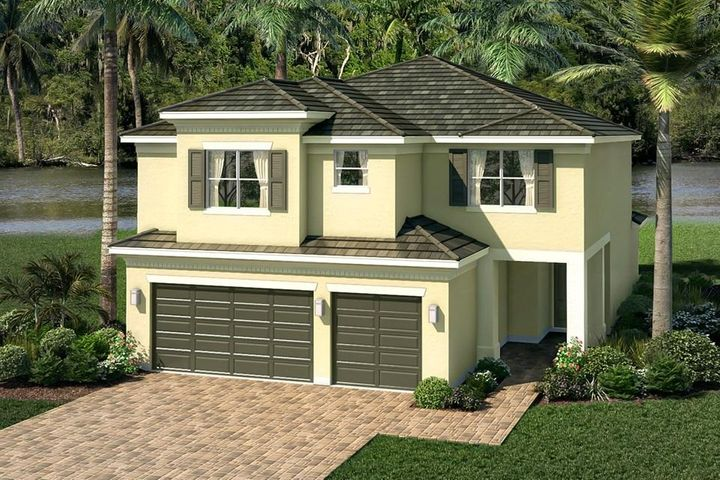 SPECTACULAR   HOME IN ONE OF GL HOMES' NEWEST ACTIVE COMMUNITIES.  BRAND NEW CYPRESS MODEL BOASTS 5 BR'S , 5 1/2 BTHS, LOFT & 3 CAR GARAGE W/ TRANSITIONAL ELEVATION.   ENTIRE HOUSE HAS IMPACT GLASS, WINDOWS & DOORS.  WHOLE HOUSE HAS GUTTERS & IS PRE WIRED FOR FUTURE POOL/SPA.  KITCHEN HAS GE SS APPLIANCES W A DOUBLE OVEN & CHIMNEY HOOD.  42' TAUPE CABINETS W/  WHITE QUARTZ COUNTER TOP & FULL BACK SPLASH.  THERE IS AN UNDER MOUNT SINK.  MASTER BATH HAS A PHOENIX SILVER MATTER 12 X 24 PORCELAIN TILE WHICH GOES ALL THE WAY UP TO THE CEILING.  LEVEL 6 VINTAGE SLATE CABINET W/ WHITE QUARTZ COUNTER TOPS & UNDER MOUNT DOUBLE SINKS.  MIRRORS GO ALL THE WAY UP TO THE CEILING.  DOWNSTAIRS FLOORING IS 20 X 20  OFF WHITE PORCELAIN TILES THROUGHOUT LIVING AREA. HIT MORE!!! DOWNSTAIRS BEDROOMS ARE CARPETED.  LAUNDRY ROOM HAS GE WASHER & DRYER & A CABINET W/ DROP IN SINK. STATE OF THE ART CLUBHOUSE IS NOW OPEN!!  CLUBHOUSE   HAS TENNIS, PICKLEBALL, FULL BASKETBALL COURT, RESORT-STYLE POOL, WADING POOL, WHIRLPOOL SPA, PLAYGROUND, INDOOR SPORTS COURT, EVENT ROOM W/ KITCHEN, CARD ROOM, FITNESS CENTER, AEROBICS STUDIO, A SOCIAL DIRECTOR AND SO MUCH MORE!! THERE IS ALSO A 24- HOUR STAFFED GATED ENTRANCE!  DAKOTA IS CLOSE TO IT ALL! MINUTES FROM DELRAY MARKETPLACE, BEACHES, RESTAURANTS, ENTERTAINMENT, AND THE TURNPIKE!  GREAT SCHOOLS! RESORT STYLE AMENITIES!