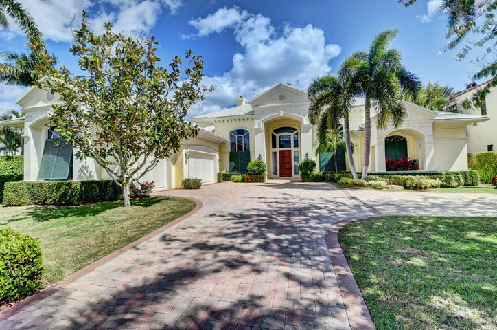 STUNNING DIRECT INTRACOASTAL GATED ESTATE.  BUILT IN 2001 THIS HOME HAS BEEN METICULOUSLY MAINTAINED.  IT HAS AN OPEN FLOOR PLAN ON A LARGE LOT THAT OVERLOOKS A BASIN ON THE INTRACOASTAL.  THERE IS A 35 FT DOCK & HAS APPROVAL FOR A LIFT.  THE HOME IS 4/5.5 PLUS AN OFFICE & IS JUST UNDER 7000 SQ. FT. UNDER AIR.  THE OVERSIZED CUSTOM KITCHEN HAS A DOUBLE OVEN & A 6 BURNER STOVE WITH A GRIDDLE.   THE KITCHEN OPENS TO THE FAMILY ROOM WHERE THERE IS A BAR FOR ENTERTAINING & A LARGE WALL UNIT WITH MULTIPLE TV'S.  THERE ARE 2 MASTER SUITES, ONE UPSTAIRS & ONE DOWNSTAIRS.  BOTH ARE OVERSIZED WITH STUNNING POOL & INTRACOASTAL VIEWS.  THE UPGRADES IN THE HOME ARE ENDLESS BUT INCLUDE TRIPLE CROWN MOLDINGS, PLANTATION SHUTTERS, IMPACT GLASS & A WHOLE HOUSE GENERATOR. 2 BLOCKS TO ATLANTIC AVE. SHOPS.